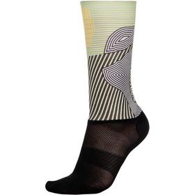Bioracer Summer Socks, kontur olive yellow